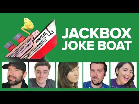 Joke Boat: Which Joke is Funniest? Mike vs Jane vs Andy vs Luke vs Ellen (Challenge of the Week)