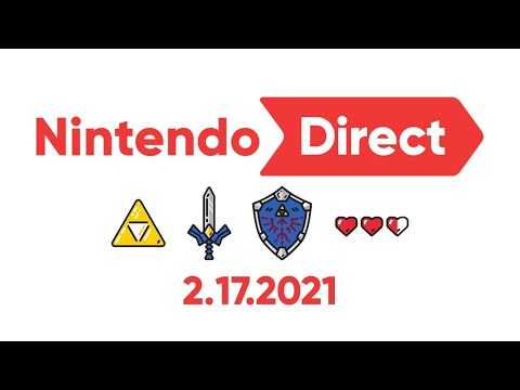 Nintendo Direct 2.17.21 Reaction + ALL New Switch Games!