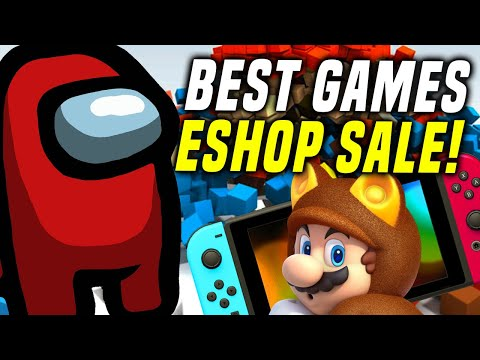 Among Us, Best Nintendo Switch Games SALE This Weekend on eShop!