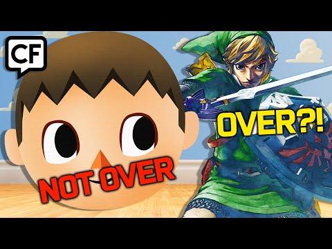 Animal Crossing Is NOT Over! Zelda Skyward Sword Is Over?! | CommentForce Ep. 3