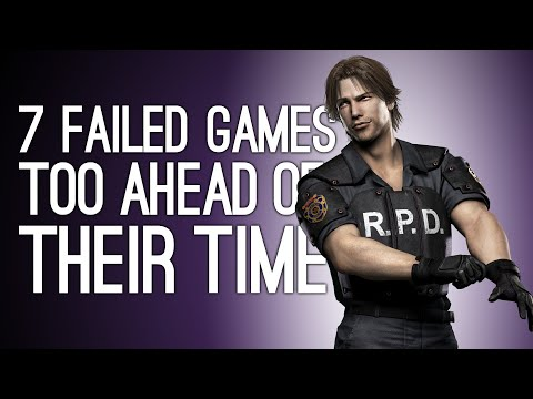 7 Failed Videogames That Were Too Ahead of Their Time