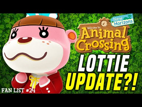 SHAMROCK DAY + LOTTIE Animal Crossing Update For March?! New Features WE WANT In New Horizons #24