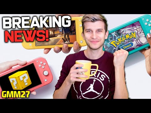 Nintendo Approves MAJOR Switch Game + NEW Pokemon Diamond and Pearl Remake Leak!? (GMM27)