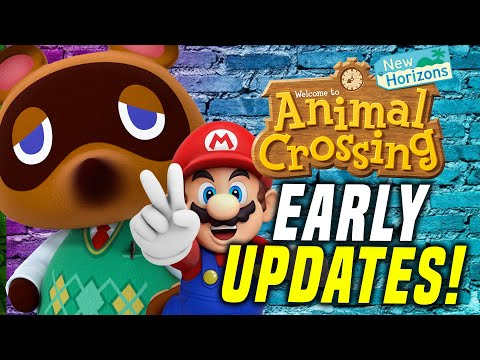 How To Get ANY Animal Crossing Update EARLY AND FAST! (New Horizons Mario Update)
