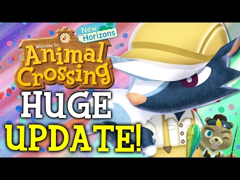 Animal Crossing March Update - ALL New Features, Events, Villagers, Fish, Bugs in New Horizons!