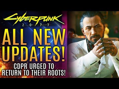 Cyberpunk 2077 - New Updates! Manager Urges CDPR To Return To Roots! God of War Ragnarok PS5 Updates