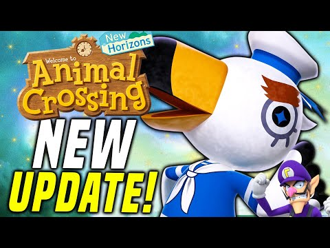 THEY FAILED...?! New Animal Crossing Update 1.8.0 a! New Horizons March Update! (Switch Update)