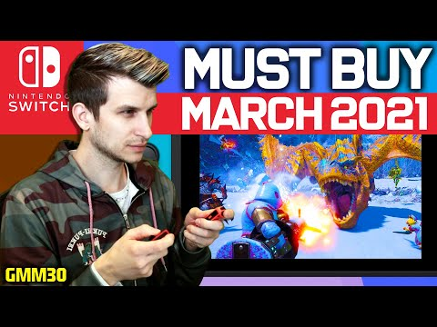 10 Epic New Nintendo Switch Games Coming Out! - March 2021 (New Switch Games - GMM30)
