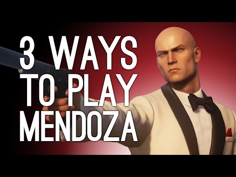 Hitman 3 Mendoza! 3 Ways to Play! WINE PRESS! ELECTRIC TRAP! BALCONY SURPRISE? (Part 1 of 2)