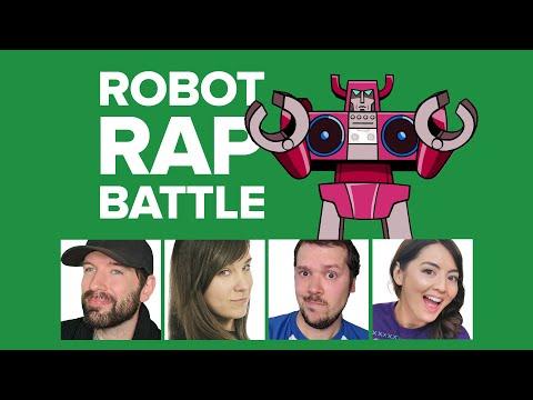 RAP BATTLE: Mike vs Jane vs Andy vs Ellen in Challenge of the Week (Jackbox Mad Verse City)