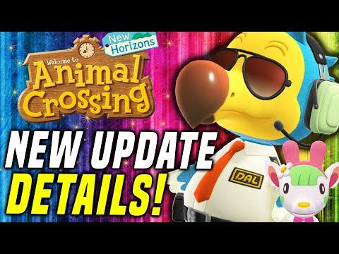 IT'S GONNA HAPPEN?! Animal Crossing Update Sanrio Amiibo Info (New Horizons Switch Update) - Bobby❤️