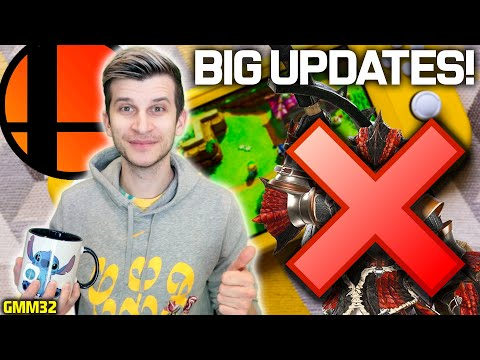 Nintendo Drops NEW Switch Update for Big Games! + 720p Switch Pro Debate! (GMM33)