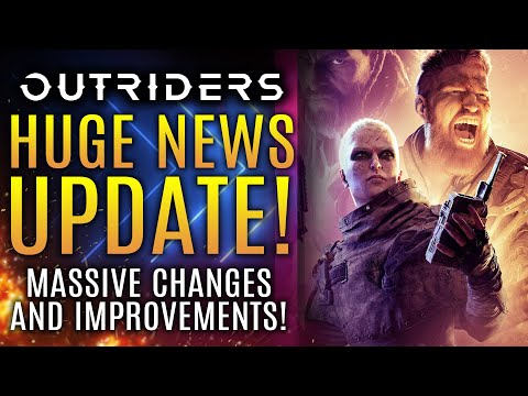 Outriders - Big News Update!  Huge Changes Revealed! Legendary Weapon Changes! New Gameplay Updates!