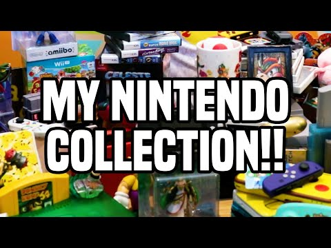 MY EPIC NINTENDO COLLECTION!!