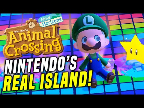 They Made Mario Kart In Animal Crossing?! Animal Crossing Switch Update (New Horizons Island Tour)