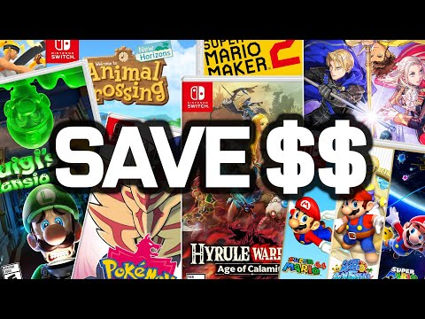EVERY First Party Nintendo Switch Game On Sale!! Mario, Zelda, Pokemon, Animal Crossing!
