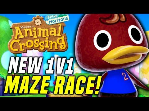 SwitchForce vs. Nintentalk LIVE RACE! New Animal Crossing Update 1.8 CRUNCHY ISLAND RACE!