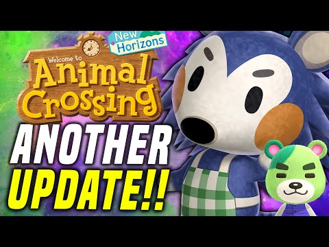 THIS GOT ADDED?! New Animal Crossing Update SHAMROCK DAY! New Horizons March! (Switch Update)