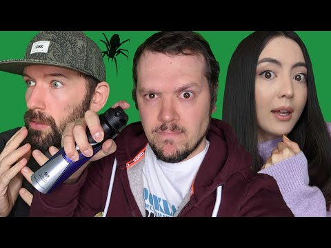 Can Mike Kill Spiders Without Screaming? SPIDER HUNT CHALLENGE 🕷️ Kill It With Fire on Xbox