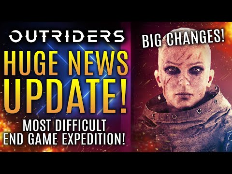 Outriders - Most Difficult End Game Expedition Revealed! New Updates To Legendary Weapons!