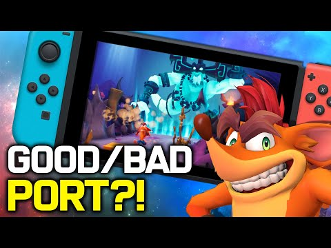 Crash Bandicoot 4 Switch: IS IT WORTH IT?! (How Does It Run + Nintendo Switch Gameplay)