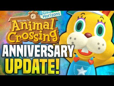 HUGE UPDATE TRAILER...! New Animal Crossing Update 1.9 New Horizons Sanrio ANNIVERSARY Switch Update