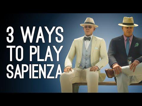 Hitman 3 Elusive Targets: 3 Ways to Play Sapienza! EXPLODING GOLF BALL! PROPANE TANK! SCISSORS?