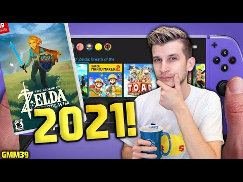 MORE PROOF Switch Pro + Zelda Breath of the Wild 2 Coming in 2021! (Nintendo Switch News - GMM39)