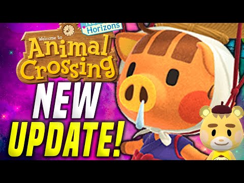 NO FREAKIN WAY?! New Animal Crossing Update 1.9! New Horizons March Update! (Switch Update)