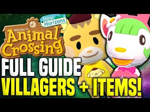 EVERYTHING YOU NEED TO KNOW: Sanrio Animal Crossing Cards! Villagers, Amiibo Cards, Items, Guide!