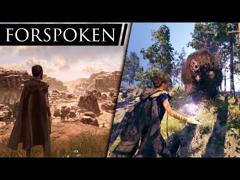 Forspoken PS5 Gameplay Looks STUNNING! New Open World RPG From Square Enix!