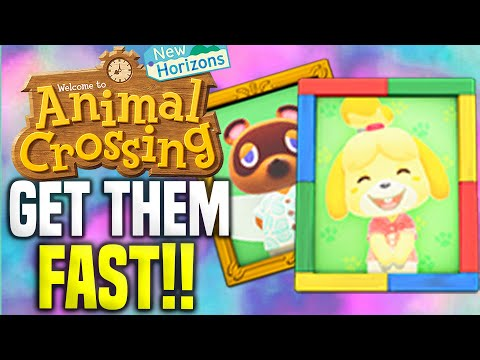 How To Get SECRET Villager Photos FAST in Animal Crossing New Horizons!! (Isabelle Photo, Tom Nook)