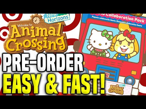 How To Get SANRIO AMIIBO CARDS At Target! Animal Crossing Sanrio Update (New Horizons Tips - Switch)