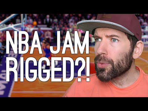 NBA Jam was Rigged (But Only For One Team)   Oxplain