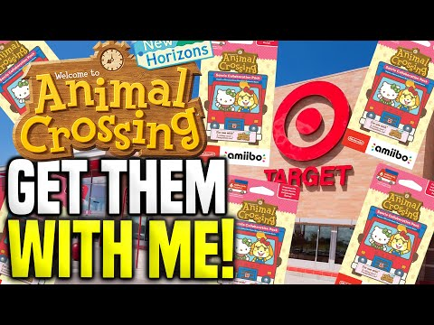 SANRIO AMIIBO CARDS at Target! LIVE PRE-ORDER Animal Crossing Update New Horizons Tips!