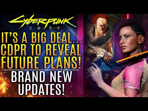Cyberpunk 2077 - CDPR To Reveal The Future Plans of The Company!  All New Updates!