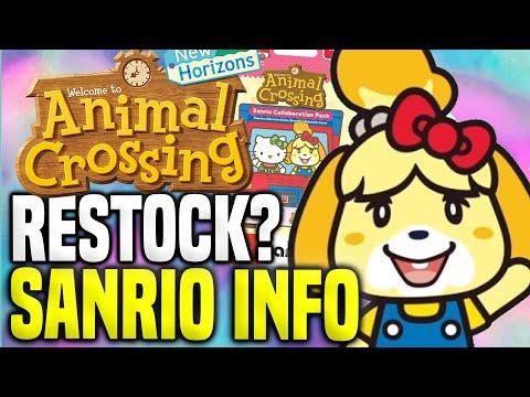 SANRIO AMIIBO CARDS RESTOCKED?! Target Animal Crossing Update (New Horizons Tips - Switch)