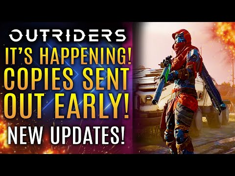 Outriders - It's Actually Happening!  Get Hyped!  Review Copies Sent Out In The Wild!  News Update!