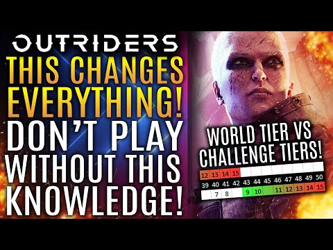 Outriders - This Changes EVERYTHING! Don't Play Without Knowing THIS Knowledge!