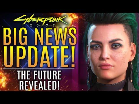 Cyberpunk 2077 - Big News Update! CDPR Just Revealed The Future of Cyberpunk, Witcher and CDPR!