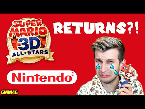 When Is Super Mario 3D All Stars COMING BACK on Nintendo Switch?!