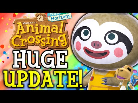 Animal Crossing April Update - ALL New Features, Events, Villagers, Fish, Bugs in New Horizons!