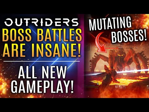 Outriders Boss Battles Are INSANE! New Gameplay! Farm For Titanium for Legendary Weapon Crafting!