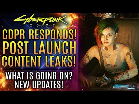 Cyberpunk 2077 - NEW UPDATES! CDPR Responds About Post Launch DLC Leaks!