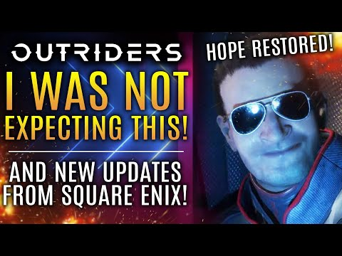 Outriders - I Was NOT Expecting This Today...New Updates From Square Enix! Also New Tips!