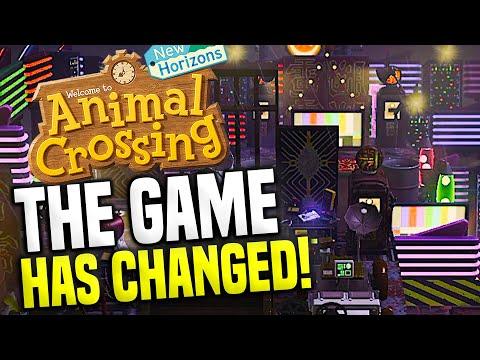 Dark Mode Change For Animal Crossing?! Animal Crossing Switch Update (New Horizons Island Tour)