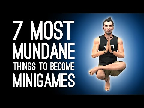 7 Most Mundane Activities Games Tried to Pass Off as Exciting Minigames