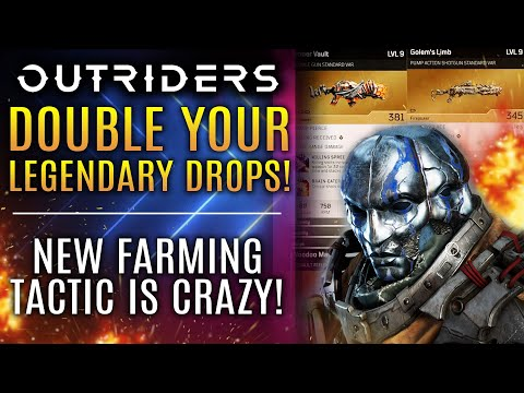 Outriders - Double Your Legendary Rewards RIGHT NOW! New Legendary Weapon Farming Tactic!