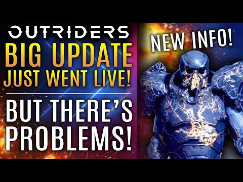 Outriders News Update - The Big Update Just Went Live But There's A Catch! Fans Demand Changes!