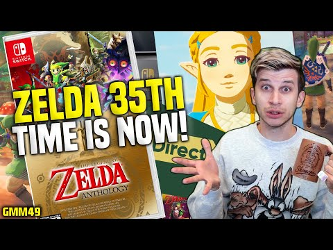 FINALLY STARTING?! Zelda 35th Anniversary On Nintendo Switch...Any Second Now...